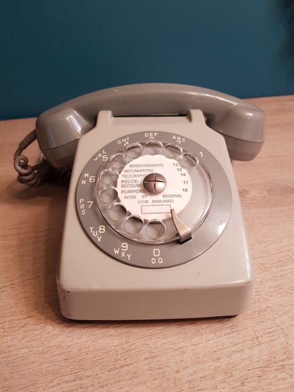 Téléphone Vintage customisé