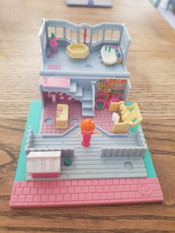 salon de toilettage Polly Pocket Vintage