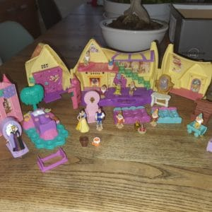 Polly Pocket Disney Blanche Neige et les 7 Nains